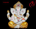 Fiber Raja Ganesha Idol
