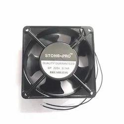 STONE-PRO Sheet Metal 220v AC 4inch 120x120x38 Cabinet Cooling Fan, 220 Vac, 50 Hz