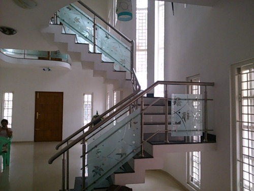 Stainless Steel Railing - SS Railing Glass Designs ...