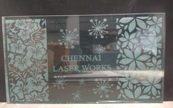 Mirror Glass Laser Engraving Services