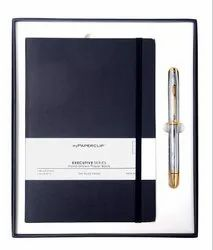 Cross Coventry Polished Chrome Ball Pen with Weekly Planner 2020 Corporate Gifts