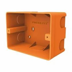 Press Fit One Modular PVC Concealed Switch Boxes