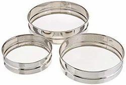 Stainless Steel Flour Sieves Set of 3