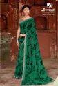 Laxmipati Dark Green Georgette Saree Dilbaro 5404