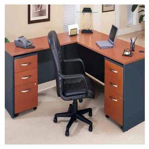 Home Office Sets Painted Office 5 Piece: Wooden Modular Office Desk, Width: 1.5 Feet, Rs 15000