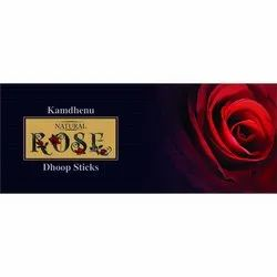 Natural Rose Dhoop Sticks
