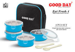 Eat Fresh 4 Lunch Box (with Lock & Seal Lid)