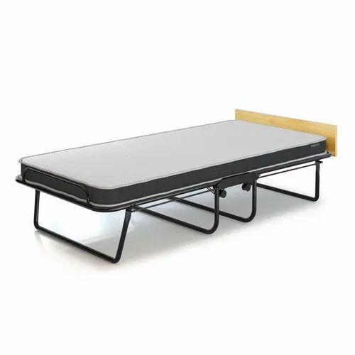 6 X 4 Feet MS Rollaway Folding Bed, पहिएदार पलंग in Hadapsar, Pune ,  Creative Engineers | ID: 22429033397