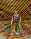 Designer Ladies Cotton Navratri Special Rabari Chaniya Choli, Dry Clean