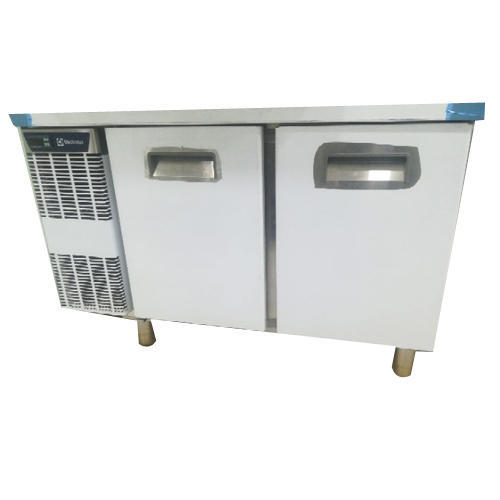 electrolux stainless steel commercial undercounter 2 door refrigerator 265 - Commercial Undercounter Refrigerator