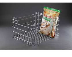 Grain Trolley Base Mounted Kitchen Basket