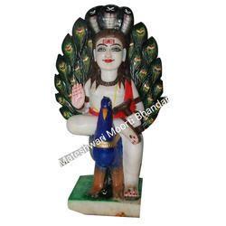 Marble Baba Balaknath Moorti