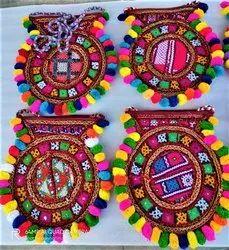 Cotton Handmade Embroidered Banjara Jaipuri Bag