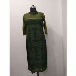 Long Casual Silk Kurti