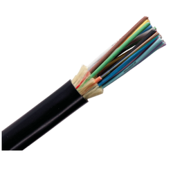 6 Core Single Mode Fiber Optical Cable With 6.2 mm Overall Diameter And 220 V Voltage