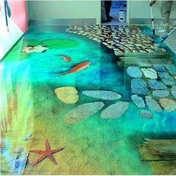D Flooring In Pune - 3d acrylic floors