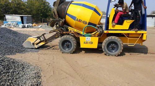 Ajax Fiori Self Loading Mobile Concrete Mixer प्रेशर