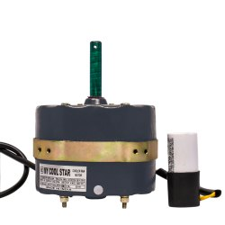 Single Phase 1400 MyCoolStar Aluminium Cooler Fan Motor AL1001, Voltage: >200 V
