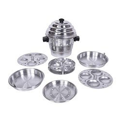 Aluminium Shikha Idli Cooker, For Home, Capacity: 2100 Ml
