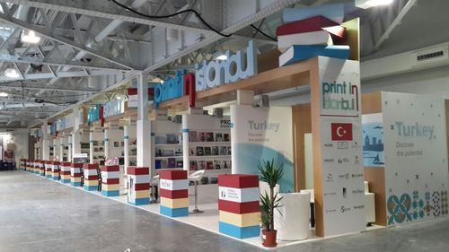 Exhibition Stand Services : Exhibition stand fabrication booth design services service