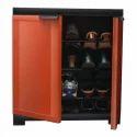 Nilkamal Plastic Shoe Rack Cabinet