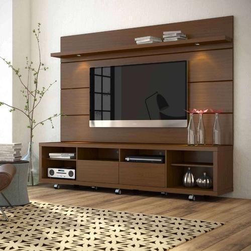 Tv Helping Push Kitchens Off The Shelf: Modern Brown Plywood TV Shelf, Rs 18000 /piece, Chennai