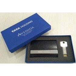Gift Set - Key Pen Drive & Card Holder