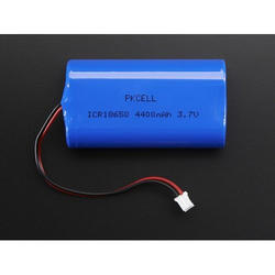 4400 mAh Solar Rechargeable Lithium Ion Battery, Voltage: 3.7 V