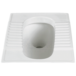 G.E.C. Ceramic Toilet Orissa Pan 20 And 23 White (FG)