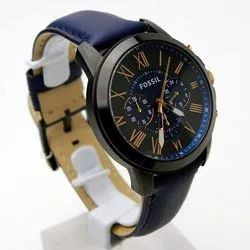 Round Analog Fossil FS4835 Men Wrist Watches, For Personal Use