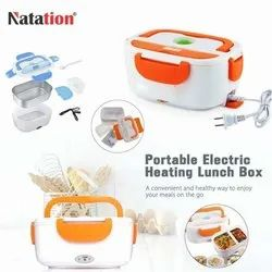 Hard Plastic Multi Function Electric Portable Food Warmer / Electric Lunch Box / Tiffin Box