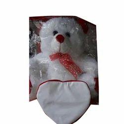 White Printable Teddy Bear