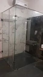 Toughened Glass Shower Enclosure l type