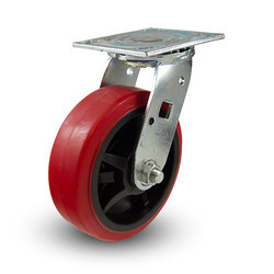 SS 304 Trend Brake PU Caster Wheel