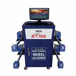 Cutting Edge Bluetooth Wheel Alignment Machine
