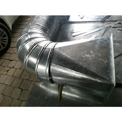 Aluminum Air Cooling Duct System