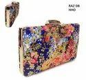 Colorful Floral Printed Box Bags Raz08