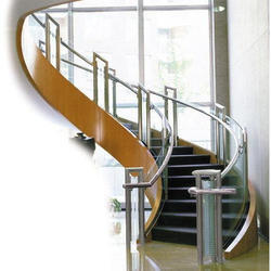 Decorative Stainless Steel Stair
