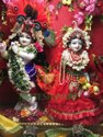 White Marble Radha Krishna idol