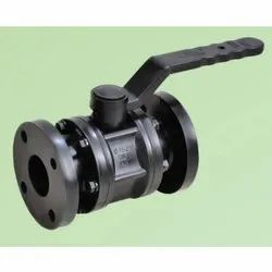 Screwed Flanged End HDPE Ball Valve