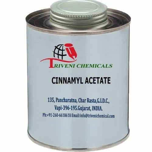 Liquid Cinnamyl Acetate For Industrial, Triveni Chemicals | ID