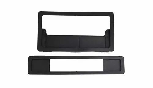Plastic Scooty Two Wheeler Number Plate Frame