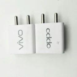 Black, White Oppo Adaptors 2.1amp