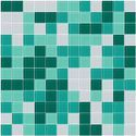 Crystal Random Mix Glass Mosaic Tiles
