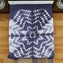 Shibori Bedspread Ethnic Bedding