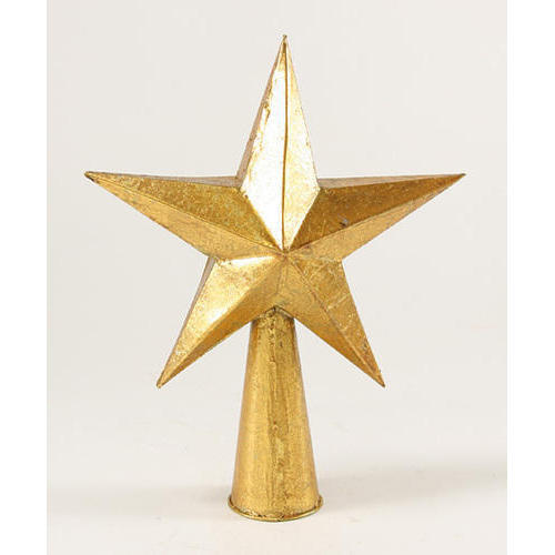 Gold Star Tree Topper View Specifications Details Of Christmas