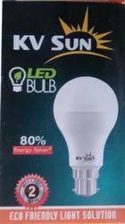 Cool daylight kvsun light 5w LED Bulb, 5 W, Shape: Round