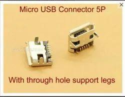 Micro USB Connector MC2104, 0.5 mm, 2.5A