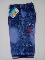 Cotton Casual Jeans Capri Pants For Boys