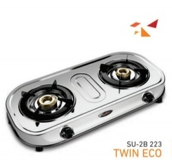 Double Burner Gas Stove SU 2B-223 Twin-ECO